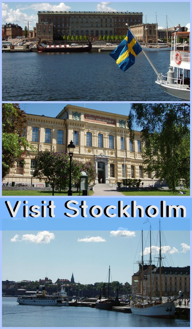 Visit Stockholm Venice of the North
