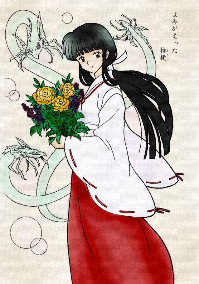 399 best Kikyou images on Pinterest   Inuyasha, Fan art ...