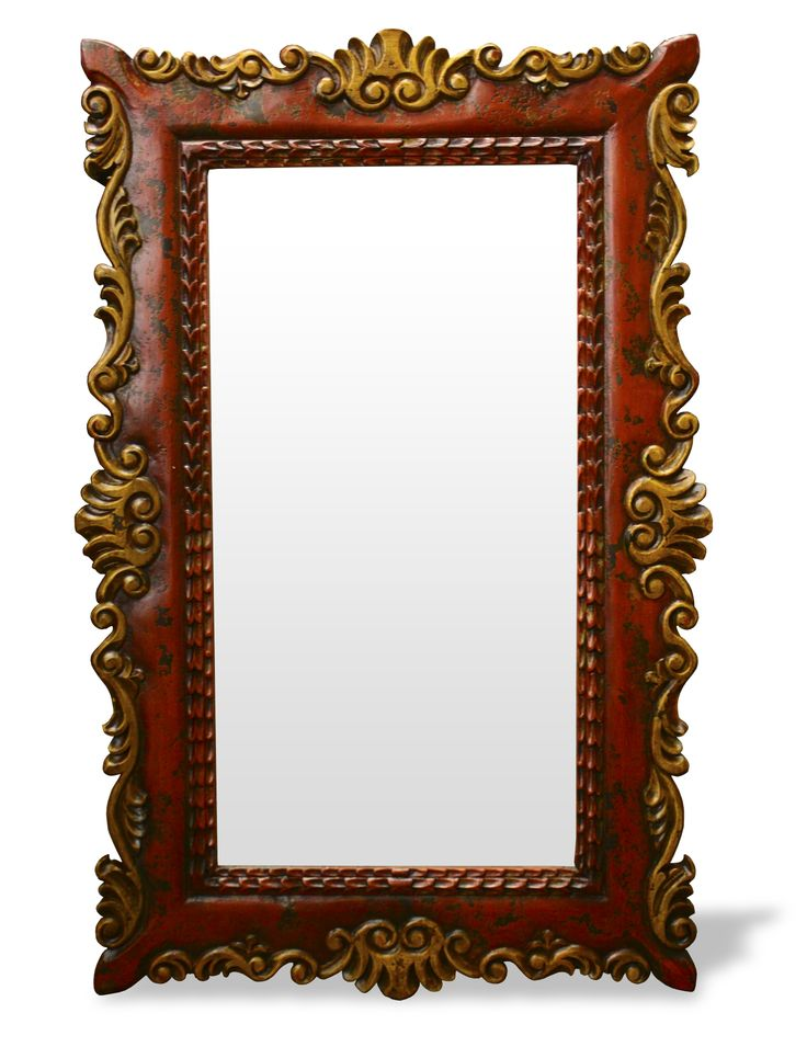 This mirror was elaborately hand crafted and hand painted from environmentally friendly woods and materials. See more of our high quality accessories at www.Koenigcollection.com