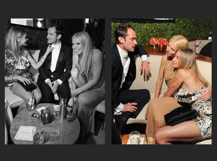 Cameron Diaz and Gwyneth Paltrow at 2011 Vanity Fair Oscar party