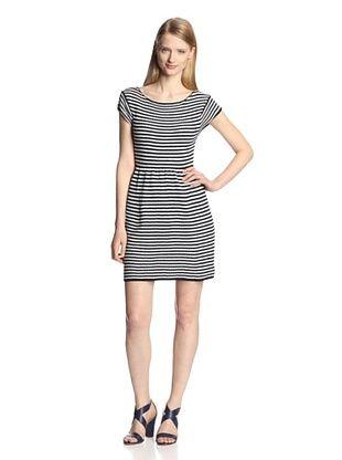 59% OFF Tart Women's Basel Dress (Navy/White)