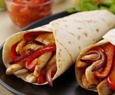 Rezept Gefüllte Weizentortillas m. Schweinefleisch von dolcebella - Rezept der Kategorie Hauptgerichte mit Fleisch