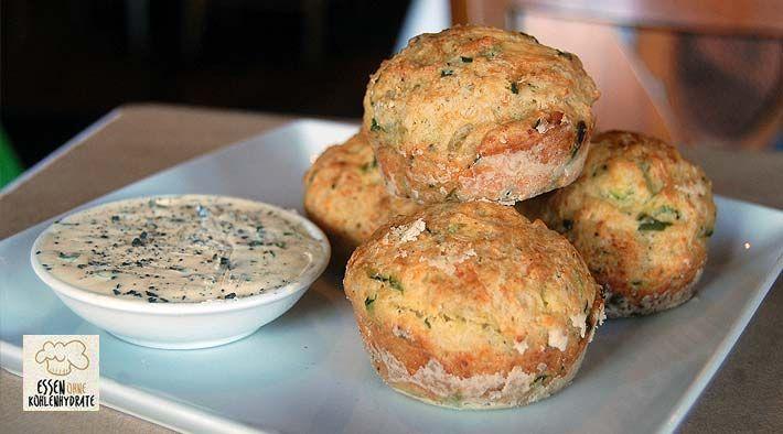 leckere low carb zucchini muffins rezept kochrezepte kochen und gesunde rezepte. Black Bedroom Furniture Sets. Home Design Ideas