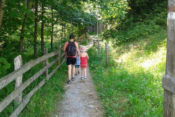 Erlebniswanderung durch die Gilfenklamm bei Sterzing - Themenwanderungen in Südtirol - Wandern in Südtirol - Sonnleiten