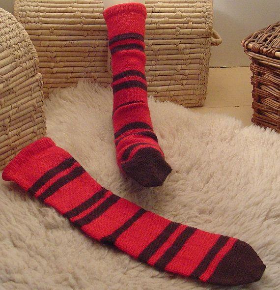 Bear Hunter socks They socks by woodsidewool on Etsy