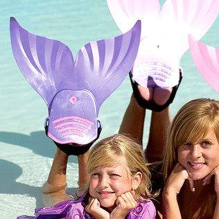 Love this mermaid flipper!
