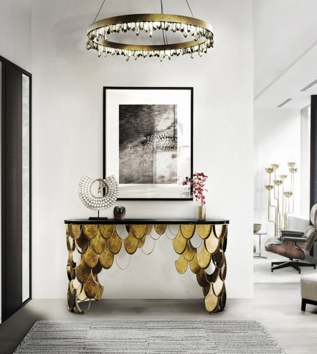 10 Astonishing Console Tables Inspired By Nature Amazing Pictures