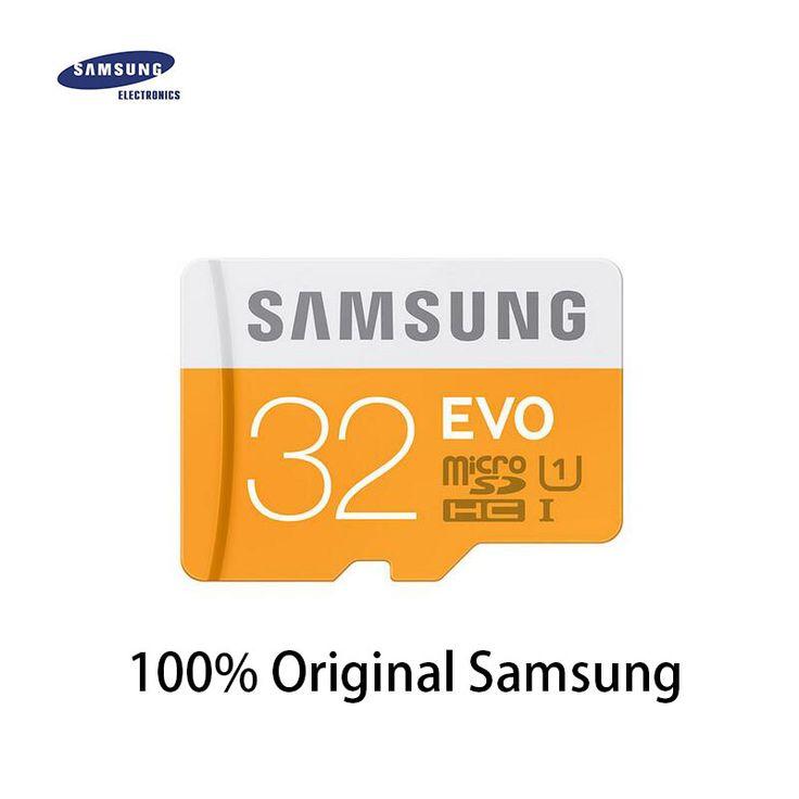 Samsung evo micro sd 128g/64 gsdxc 32g/16/8 ggsdhc class10 tf geheugenkaart ondersteuning officiële verificatie 100% echt gratis verzending