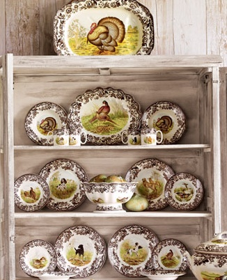 Love my Spode (Woodland) Thanksgiving china. Thanksgiving Dinner PlatesVintage ThanksgivingThanksgiving DinnerwareHoliday ... & 224 best Letu0027s Talk Turkey images on Pinterest | Turkey plates ...