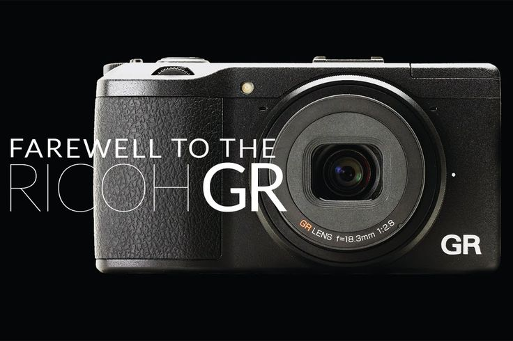 Farewell to Ricoh GR. The best street photography camera I've ever owned.