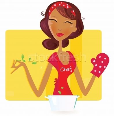 Sexi Woman Chef  - ilustração de vetor por lordalea - Stockfresh #339469