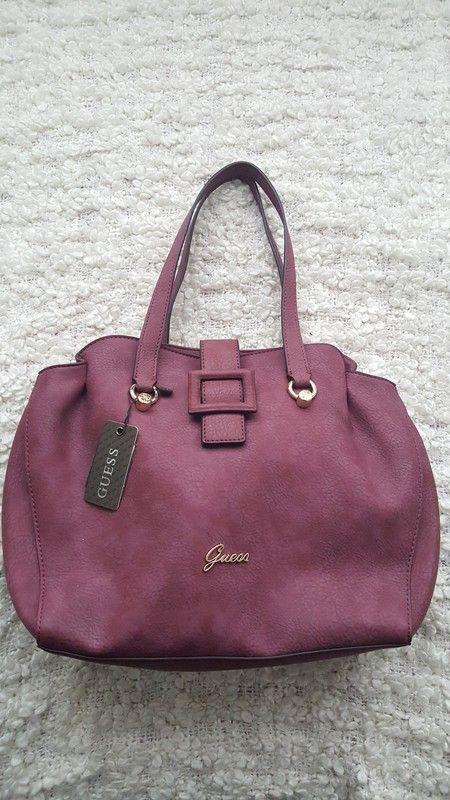 Handtasche tasche Damen in rot magenta von Guess