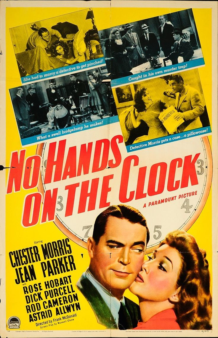 No Hands on the Clock 1941 Authentic 27