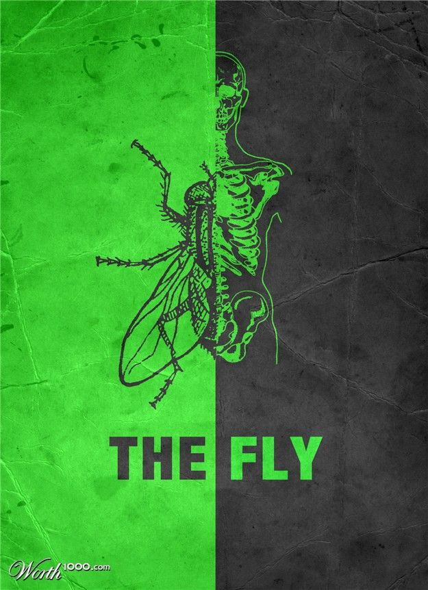 The Fly, movie poster
