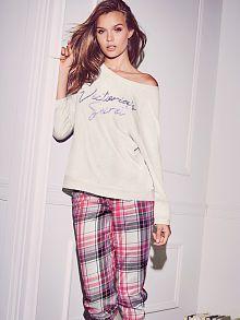 Conjunto de pantalones de chándal y estilo holgado con cuello redondo