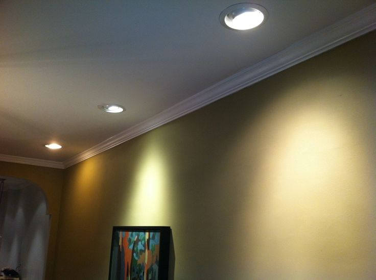 Recessed Wall Wash Light Fixture