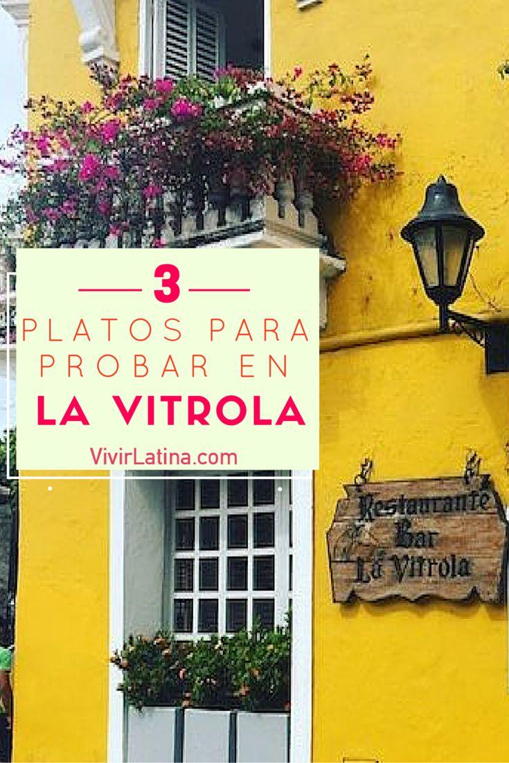 La Vitrola es un restaurante más reconocido en la ciudad de cartagena.