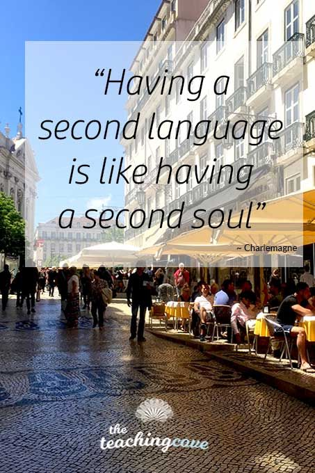 Need help with language learning motivation? Want to get motivated or need motivational posters? Click the pin to read this post with language learning tips and language teaching tips, too! Join The Teaching Cove to get free English teaching worksheets and English teaching printables every month! If you're looking for English teaching resources, join here: https://www.teachingcove.com