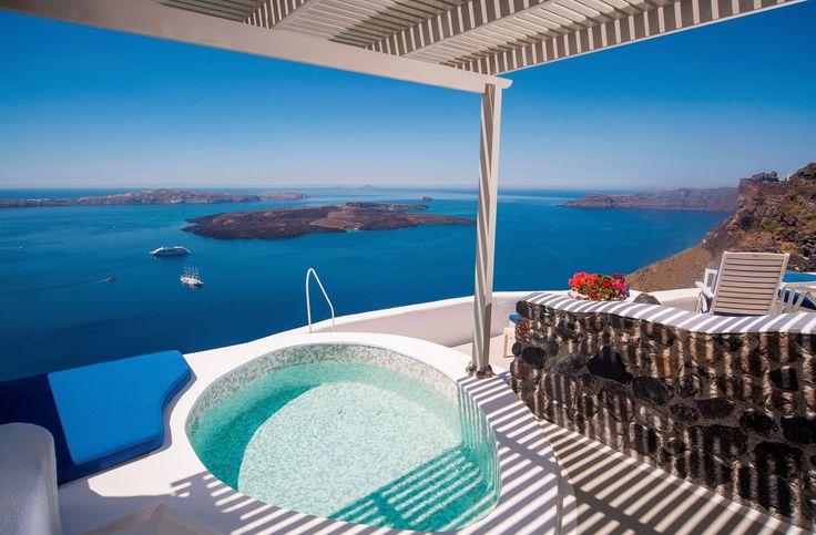 A truly unforgettable experience to cherish... #iconicsantorini #hotel #calderasuite #imerovigli #santorini #greece