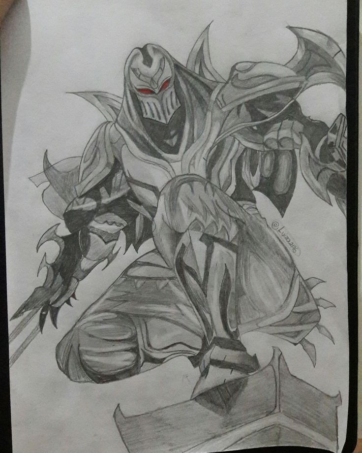 Zed from League of Legends