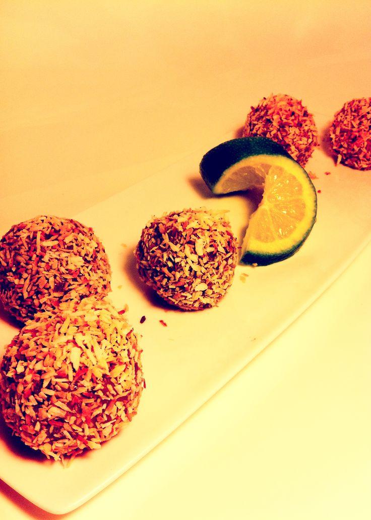 Key Lime Pie Protein Balls