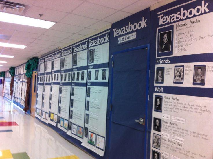 Texasbook- Connecting Texas History through Social Media