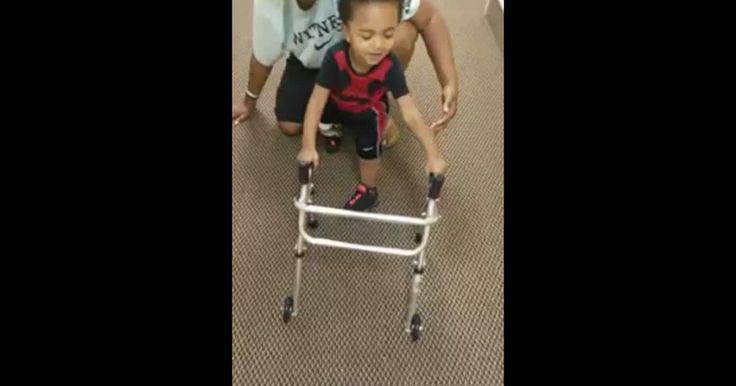 Kayden es un niño de dos años que perdió su pierna derecha y su pie izquierdo al nacer. Tras varias complicaciones durante el embarazo, a su mamá se le había aconsejado terminar el embarazo de manera temprana, para evitar que naciera un niño con problemas. Ella no aceptó, y al nacer se encontraron con un bebé con una salud mental completa. La mala noticia fue que tras haberse enredado el cordón umbilical en sus extremidades, estas les fueron amputadas al nacer. Ahora, con toda una vida por…