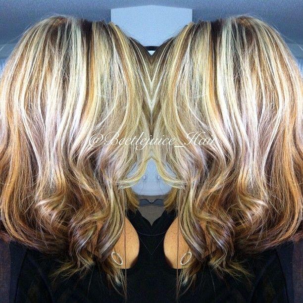Heavy Highlights | Hair | Pinterest