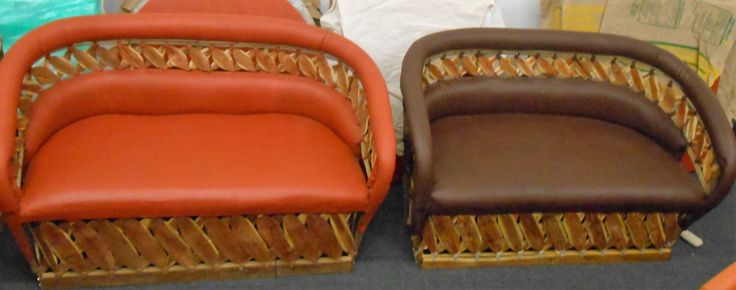 Love Seat, Estaca Collection, Equipales, Rustic Mexican Furniture, Patio Furniture by TocayoImports on Etsy https://www.etsy.com/listing/451022374/love-seat-estaca-collection-equipales