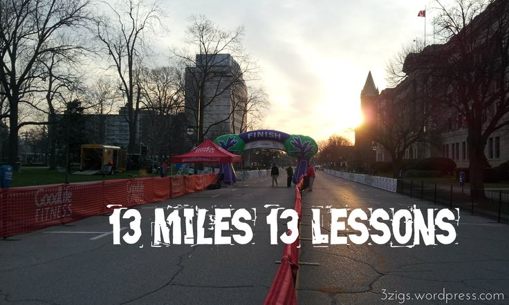What I learned while training for my first half marathon:1. I can with a plan. I need a plan to get me to the finish line. Having 17 weeks of my life mapped out and devoted to training was a bit da...
