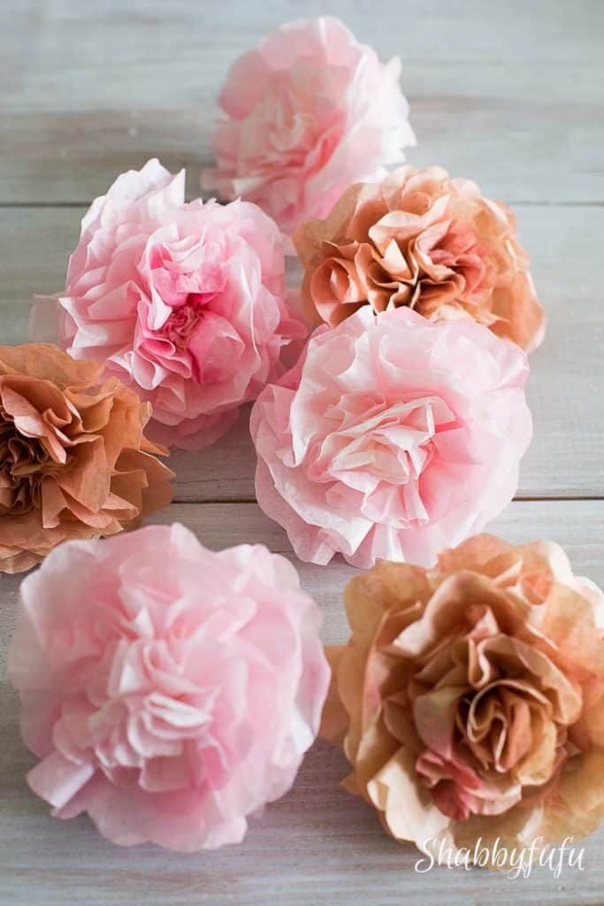 How To Make Realistic Paper Garden Flowers Easy Paper Flowers