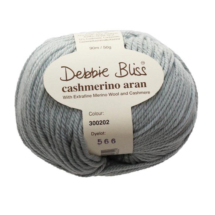 Debbie Bliss Yarn - Cashmerino Aran - #202 SILVER - 10 ply, 50g / 90m by TuppysAussieYarns on Etsy https://www.etsy.com/listing/270451534/debbie-bliss-yarn-cashmerino-aran-202