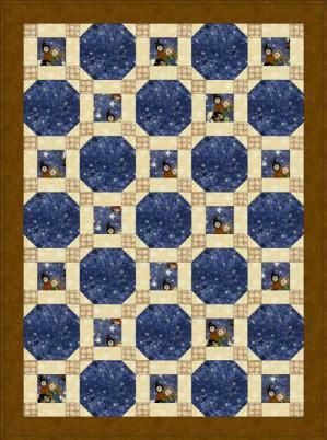 Make a Lovely Stars Through the Windows Baby Quilt With This Free Pattern: Intro to the Windows Baby Quilt Pattern