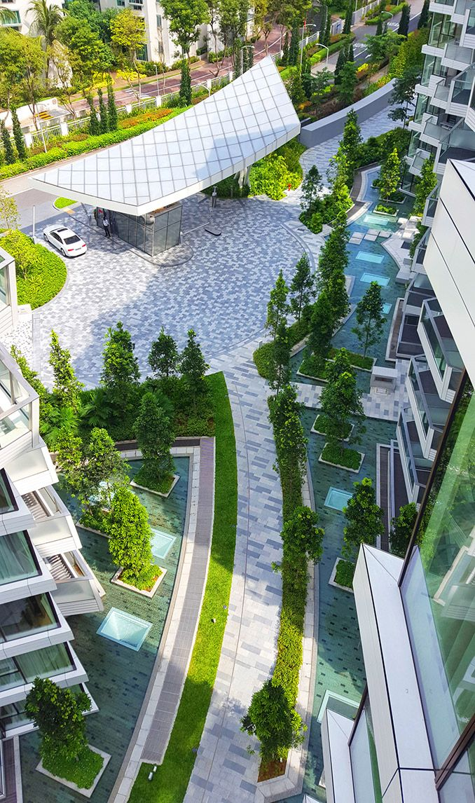 Transformation Of Singapore S Old Industrial Harbour Corals On Keppel Bay Icn Design Landscape Architecture Portfolio Landscape Landscape Architecture