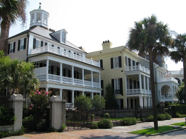 old pictures of southern plantations | Classic Southern Antebellum Homes, Charleston