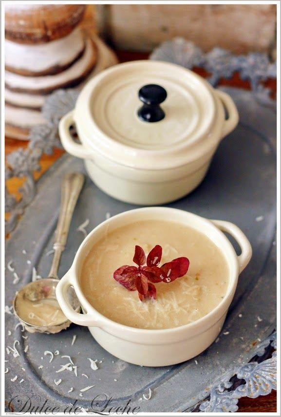 Dulce de Leche: Petržlenovo parmezánová polievka