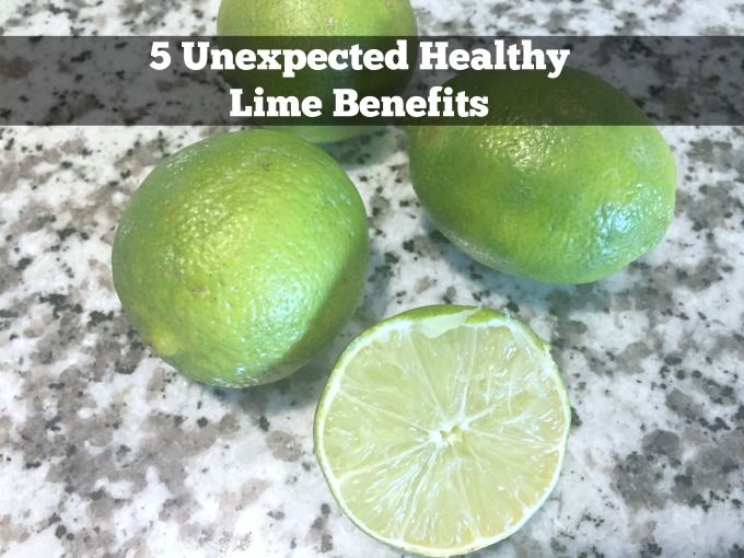 5 Unexpected Healthy Lime Benefits