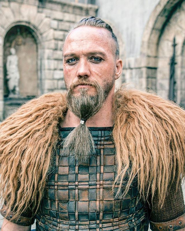 "Christian Hillborg as ""Erik"" in ""The Last Kingdom"" Season 2"