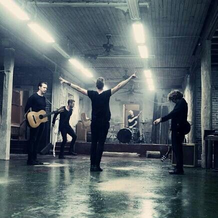 A pic OneRepublic posted from the Counting stars music vid set!