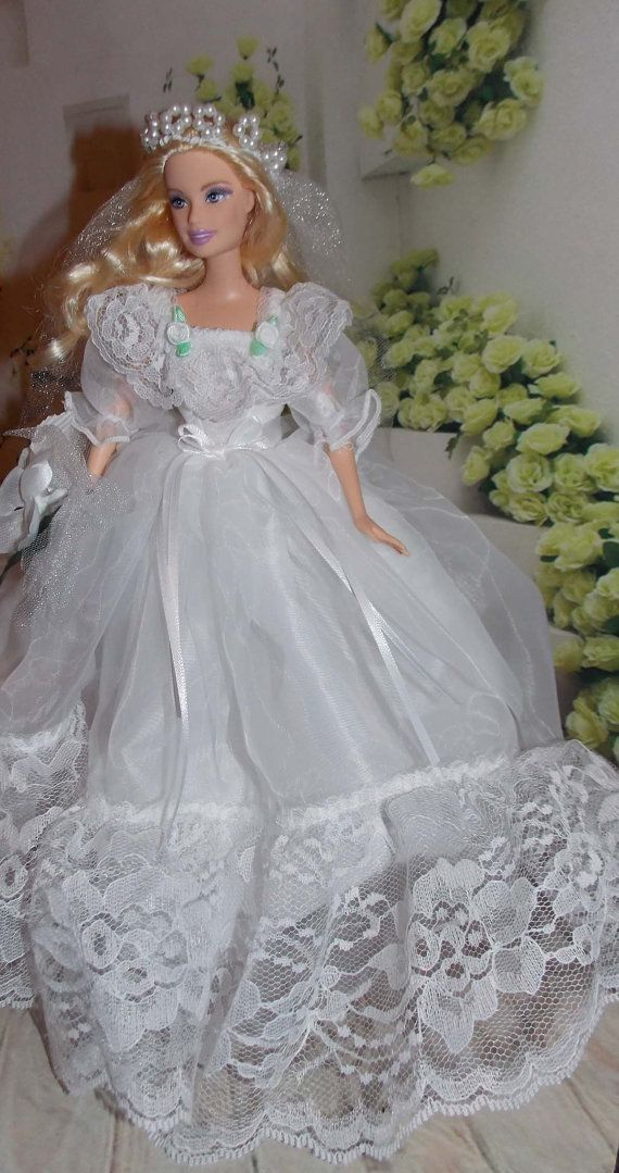 doll clothes barbie wedding dress barbie doll outfit barbie gown