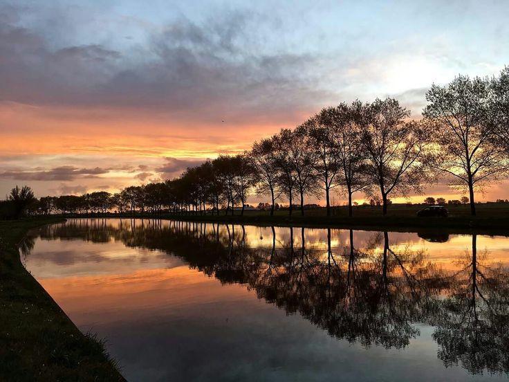 Dinsdagochtend, 18 april 2017 omstreeks 06.40 uur Hoogblokland (gem. Giessenlanden) in Nederland.