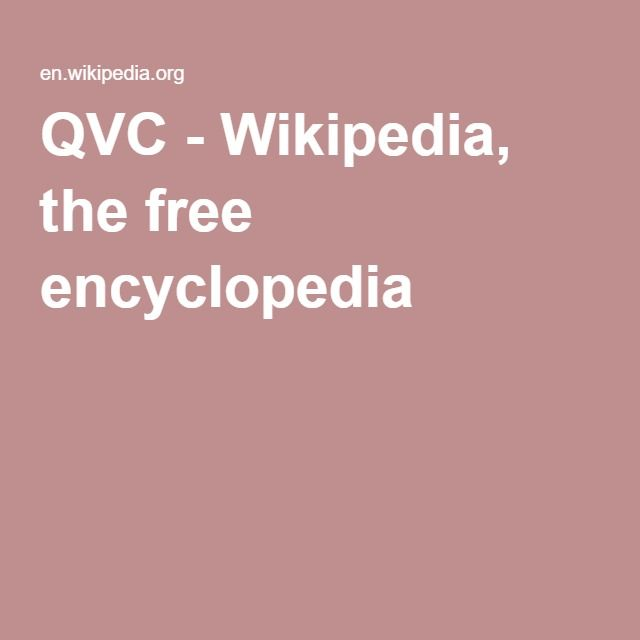 QVC - Quality, Value. Convenience - related to WEN sales