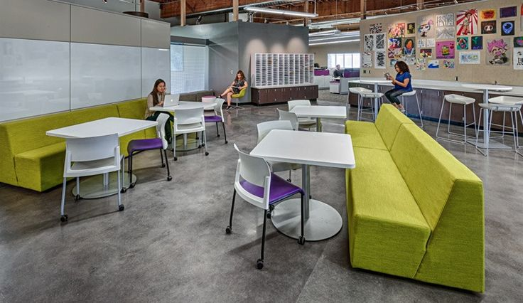 Office Design Portfolio: Independence High School - One Workplace