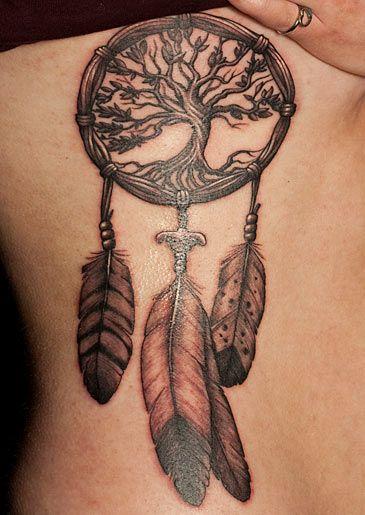 NY Ink Tattoo. No ordinary dreamcatcher
