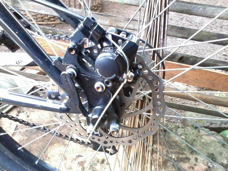 Cara Merawat Rem Cakram Sepeda Gunung