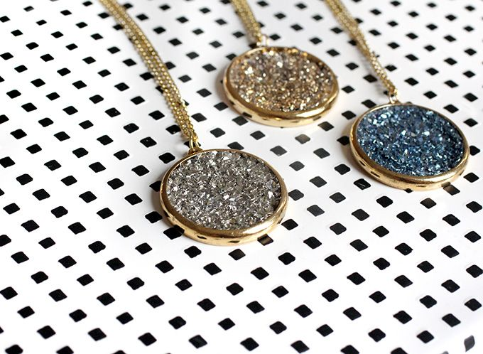 DIY Necklace with Mod Podge