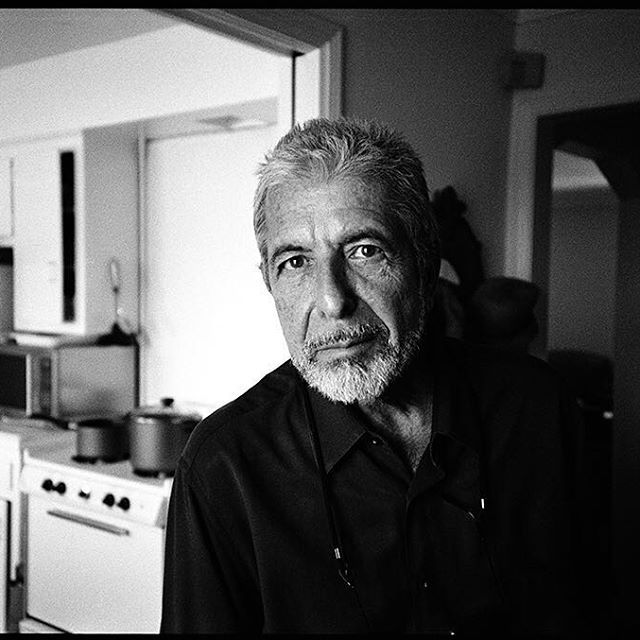 I took this photo of Leonard some time in the late 90's in his extremely humble Los Angeles apartment. He was so funny and wise and kind. He loved life cheerfully and did such superb job of living his.