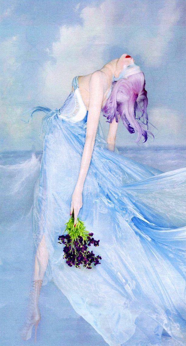 Sweet Escape | Karlie Kloss by Nick Knight for W Magazine, October 2012 #Versace #couture