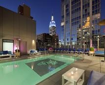 Manhattan Hotels with a Rooftop Swimming Pool | Gansevoort Park Avenue