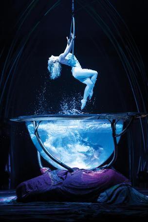 "Cirque du Soleil's newest high-flying acrobatics show ""Amaluna"""